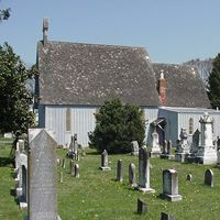 Cemetery by Church