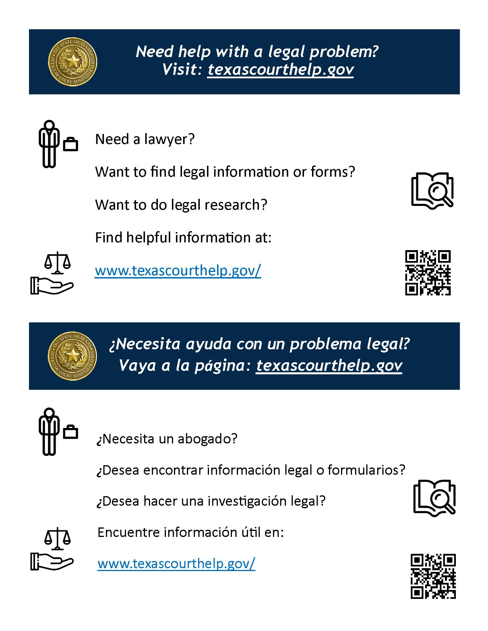 Need Help with Legal Advice Flyer