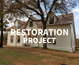 Restoration Project Man House Graphic Link