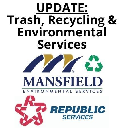 trash and recycling updates